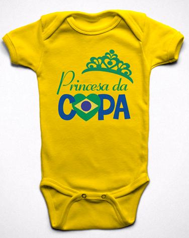 Body Princesa da Copa