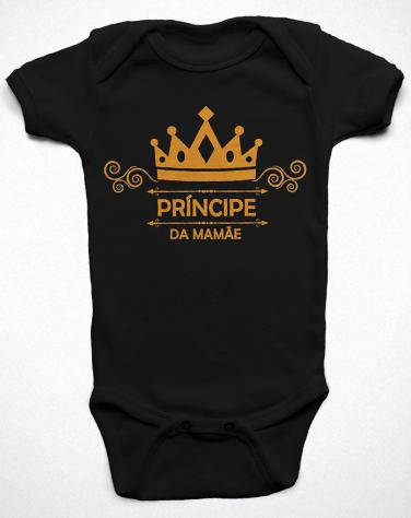 Body Bebê Príncipe da Mamãe