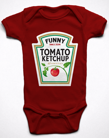Body Divertido Ketchup