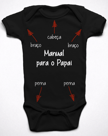 Body Divertido Manual para o Papai