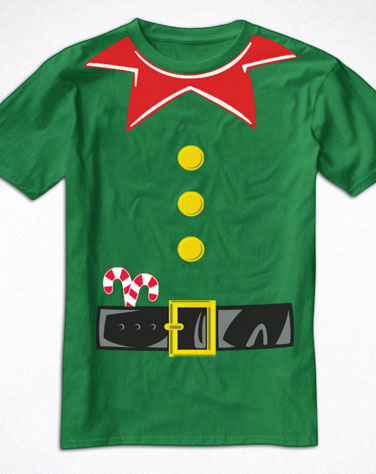 Camiseta Infantil Ajudante de Papai Noel
