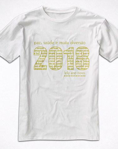 Camiseta Infantil Reveillon 2018