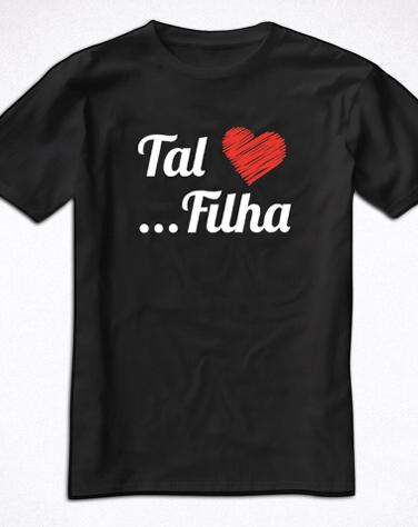 Camiseta Infantil Tal Filha