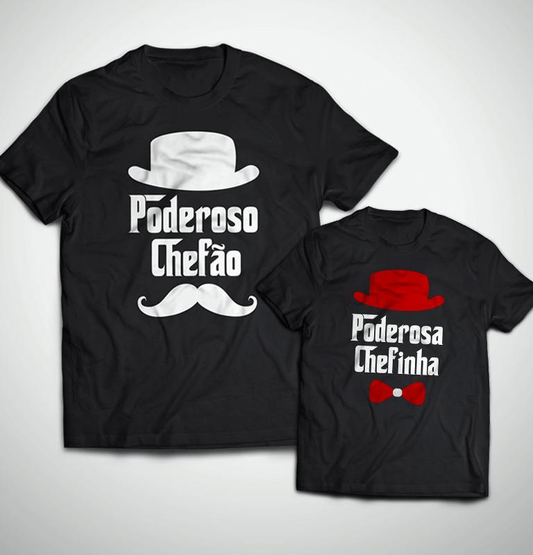 ea248aa7f9de8 → Tal Pai, Tal Filha ... Poderosa Chefinha (Camiseta Adulto + Infantil)
